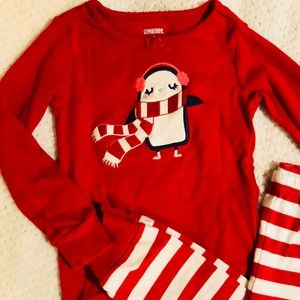 Holiday style pjs for child